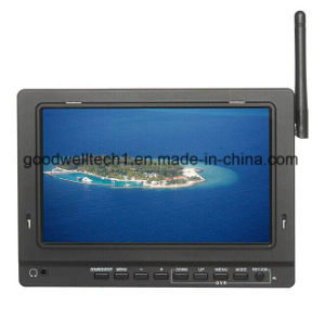 No Blue Screen 16: 9 7 Inch Video Monitor for Ground Station pictures & photos