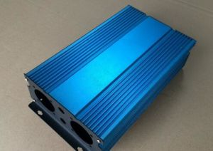 Customized 6063 Anodizing Aluminum Extrusion Profile by CNC for Power Supply Case pictures & photos