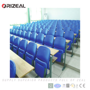 Orizeal Plastic School Lecture Theater Chair with Table (OZ-AD-304) pictures & photos