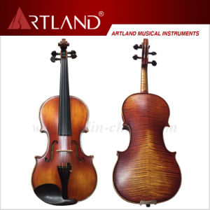 Moderate Violin (MV150) - with Nice Flame on Back pictures & photos