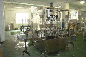 High efficient automatic rotor pump filling machine for various liquid paste pictures & photos