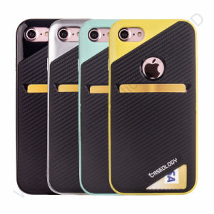 Leather Credit Card ID Holder Slots Case for iPhone 7 pictures & photos