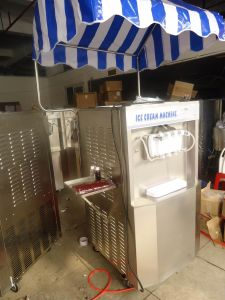 1. Ice Cream Machine, Model Tk 836t, Table Model, 36L/H pictures & photos