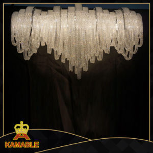 Luxury Custom-Made Decorative Project Chain Crystal Chandelier (KA11611) pictures & photos