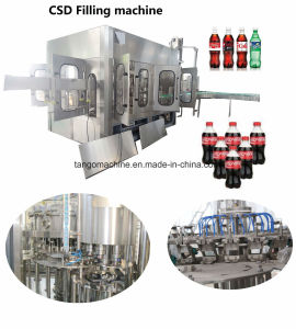 Complete Soda Water Carbonated Flavored Drinks Beverage Production Line for Pepsi Coca Cola pictures & photos
