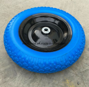 Maxtop PU Foam Flat Free Wheel pictures & photos