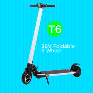 OEM Popular 6inch Two Wheel Foldable Electric Scooter with LED pictures & photos