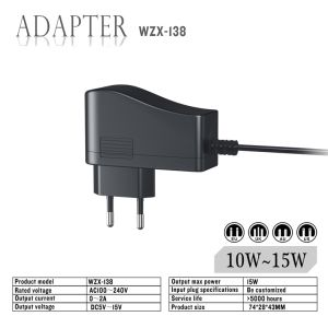 15W Power Adapter with Ce FCC RoHS Certificate pictures & photos