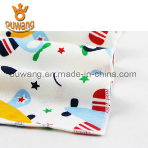 Personalized Custom Cute Printed Disposable Baby Bandana Teething Baby Bibs pictures & photos
