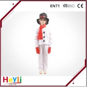 Kids Children Snowman Cosplay Costume for Party pictures & photos