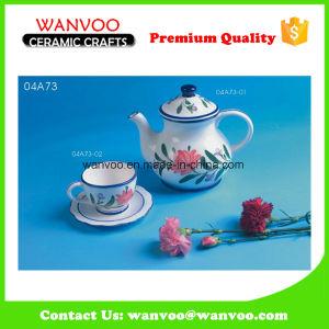 Floral Design China Antique Porcelain Tea Set pictures & photos