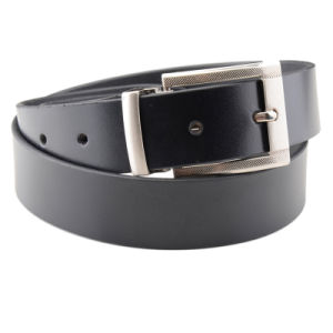 Factory Quality Formal Business Competitive Price Click PU Leather Belts pictures & photos