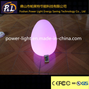 36cm Fashion Glowing RGB Egg Shap LED Light pictures & photos