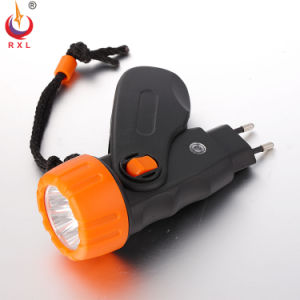 Portable Rechargeable Plastic Flashlight FT-018g