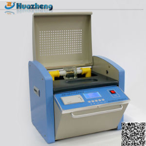 Oil Tester High Quality Withstand Voltage Transformer Oil Dielectric Tester pictures & photos