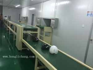 Robot Dustfree Automatic Painting Booth for Helmet pictures & photos