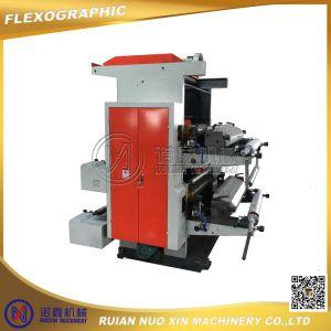 Nx2600/2800/21000 Plastic Bag 2 Color Flexo Printing Machine pictures & photos