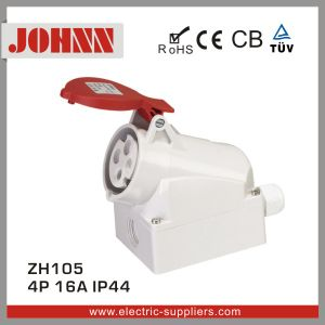 IP44 High-End Wall Mounted Socket for Industrial pictures & photos