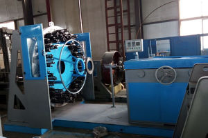 ; Horizontal Stainless Steel Wire Braiding Machine for Flexible Metal Hose pictures & photos