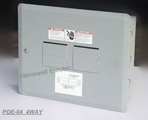 4 Way Plug in Type Distribution Board pictures & photos