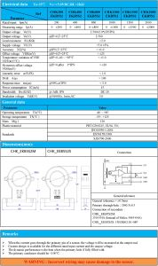 Split Core Current Transducer Hall Current Sensor pictures & photos