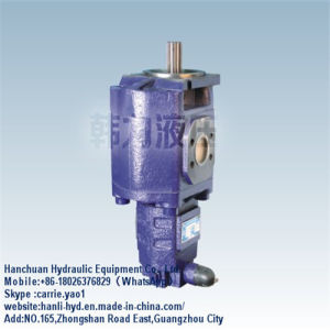 Machine Parts Hydraulic Double Gear Pump for Bulldozer Track (CBZ2080/2032) pictures & photos
