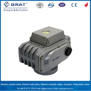 AC110V AC220V AC380V AC415 Electric Valve Actuator pictures & photos