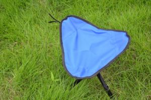 Tripod Folding Fishing Iron Chair for Outdoor (MW11013) pictures & photos