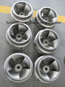 Impeller Foundry Parts Sand Casting Guide Vane Casting pictures & photos
