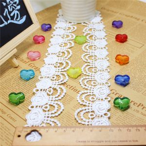 Factory Stock Wholesale 4.5cm Width Embroidery Micro Fiber Lace Polyester Embroidery Trimming Fancy Chemical Lace for Garments Accessory & Home Textile (BS1227) pictures & photos