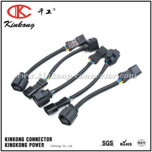 Automotive Wire Harness Assembly/Kinkong Customized Cable Harness pictures & photos