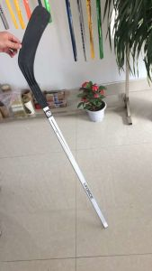 Plastic Blade Wood Shaft Hockey Stick pictures & photos