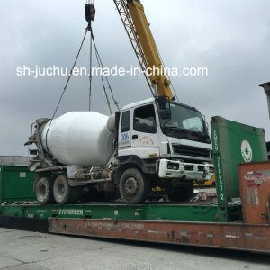 Used Isuzu Cyz 6 Cylinder Concrete Mixer Truck /Isuzu Hino Nissan Fuso 8m3 10m3 12m3 Mixer Truck pictures & photos