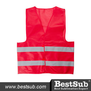 Economy Reflective Vest (Red) (RF002R) pictures & photos