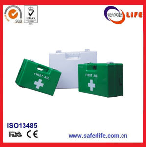 Office Wall Mount First Aid Box ABS Strong Plastic Medical Case Custom Storage First Aid Kit pictures & photos