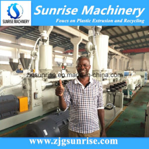 High Speed Plastic HDPE PE Pipe Hose Extrusion Making Machine pictures & photos