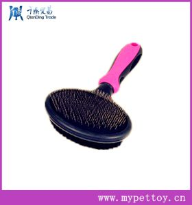 New Style Big Size Double Side Pet Slicker Brush pictures & photos