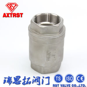 Vertical Type Spring Return Check Valve pictures & photos