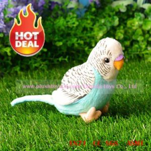 13cm Simulation Lory Plush Toys (light blue)