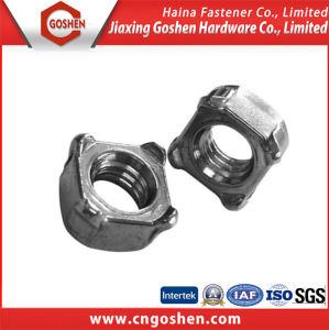 High Quality DIN928 Stainless Steel Square Weld Nut (M4-M16) pictures & photos