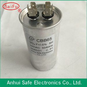 Start Capacitor Cbb65A-1 Most Used in Conditioner 15UF 370VAC Capacitor pictures & photos