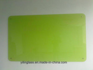 Color Painted Toughened Writing Board Glass pictures & photos