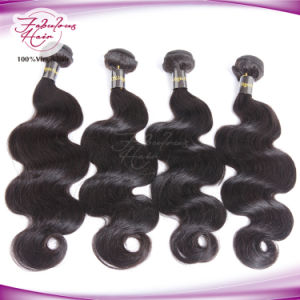 Top Quality 100% Hair Extension Brazilian Virgin Human Hair pictures & photos