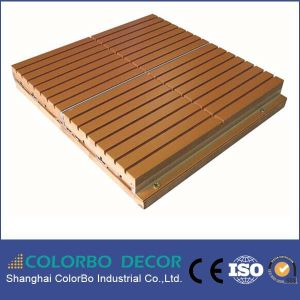 Soundproof Function for Stadium Wooden Acoustic Wall Panel pictures & photos