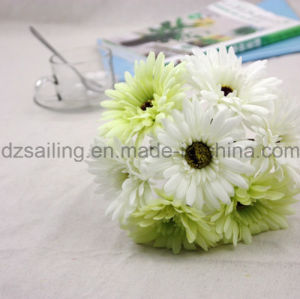7 Heads Gerbera Bouquet Artificial Flower Used for Decoration (SF16183A) pictures & photos
