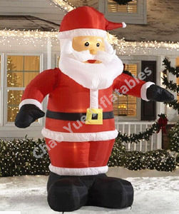 Newest Inflatable Santa Claus for Christmas Decoration (CYAD-1467) pictures & photos