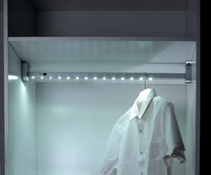 Wardrobe LED Clothes Rail&Rod pictures & photos
