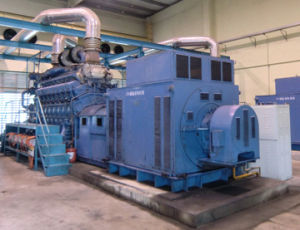 100MW Level Diesel Gas Heavy Fuel Power Generating Plant pictures & photos