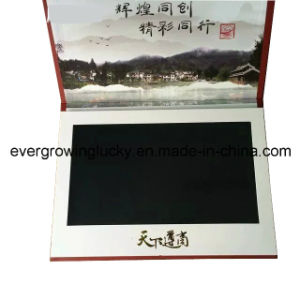 Ocassion LCD Video Greeting Card for Business Promotion Use pictures & photos