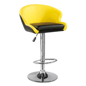 High Quality Professional Swivel PU Leather Metal Bar Chair (FS-B8253) pictures & photos